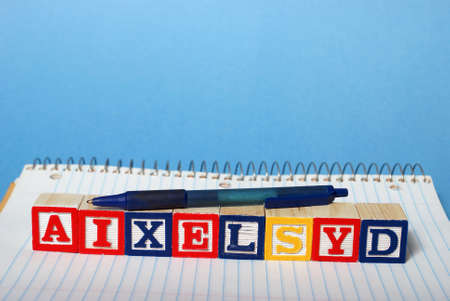 reversing: A concept based on dyslexia and its difficulties.
