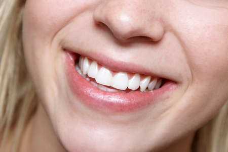 sensational: A sensational smile of a happy and healthy young female.