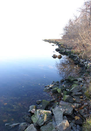 openspace: A cool crisp morning along the shoreline of the Rideau River on this Autumn day.