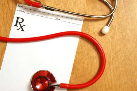prescribe: A prescription from a professional healthcare practicioner.