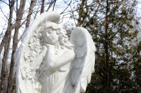 Beautiful gareden angel to protect those who see her. Imagens