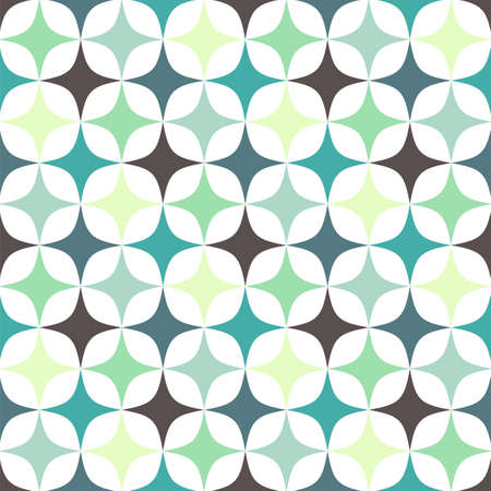 rhomb: Rhomb pattern including seamless sample in swatch panel