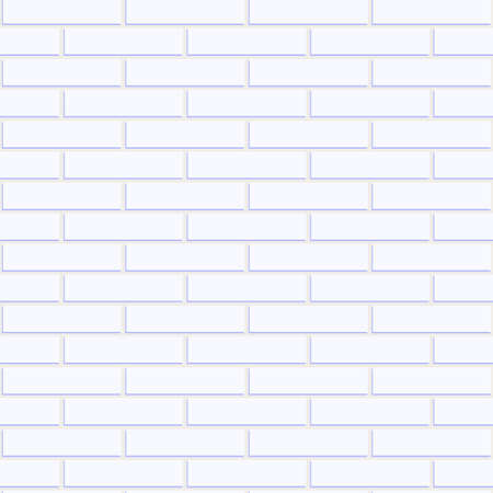 white brick: White brick pattern including seamless sample in swatch panel (AI)