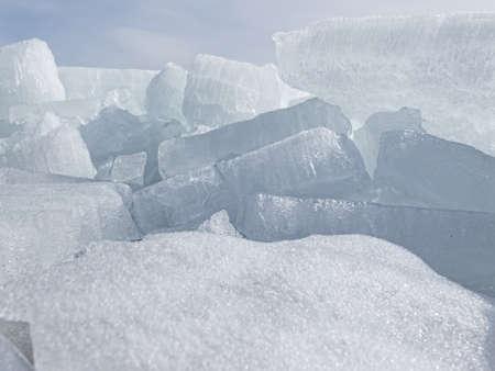 phon: Ice blocks