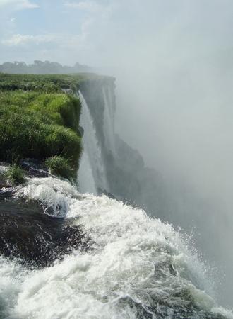 spurt: Iguazu falls, Brazil