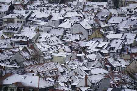 philosophers: rooftops in winter