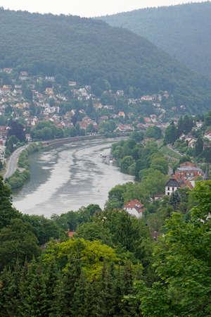industrialised: the Neckar