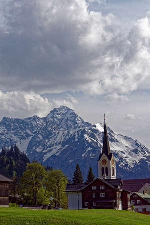 lofty: mountain landscape Stock Photo