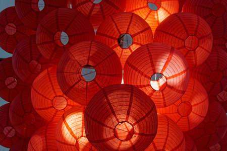 to tinker: chinese lantern Stock Photo