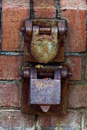 plug socket: historic plug socket Stock Photo