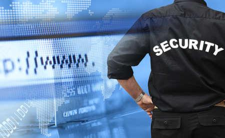 guardaespaldas: guardaespaldas de seguridad  Foto de archivo