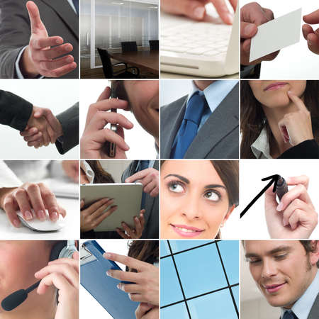Composition of business photo concept Stock Photo - 9431443