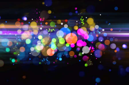 fibre optic: Abstract colorful optical fiber background