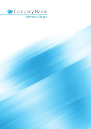 Abstract blue soft background for your prints  photo