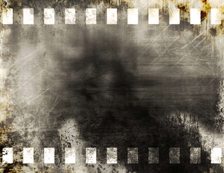 Grunge old film strip background Stock Photo - 11539827