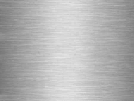 Illuminated gray aluminium plate background Stock Photo - 11539829