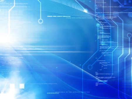 fondo tecnologia: Programaci�n y de fondo el concepto de tecnolog�a Foto de archivo