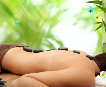 bamboo therapy: Spa therapy with stone massage