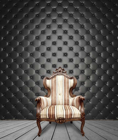 Success concept with antique chair photo