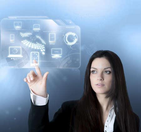 sincronizacion: Tecnolog�a de interfaz de dispositivo moderno