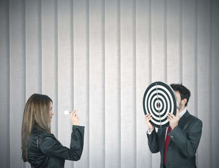 business game: Concepf of hitting the target in business