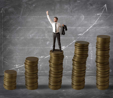 Money and success in business Stock Photo - 16252863