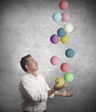 Concept of difficulty in business Stock Photo - 16498269