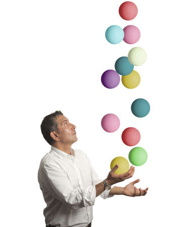 Concept van moeilijkheid in het bedrijfsleven Stockfoto