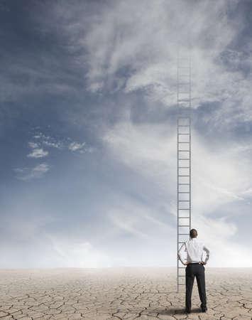 schody: Ciężka droga do sukcesu w biznesie