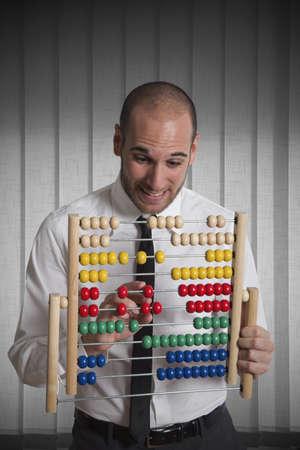 abacus: Sukces w biznesie z liczydłem Zdjęcie Seryjne