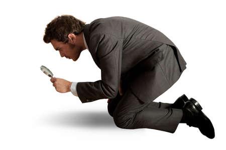 investiga��o: Conceito de empres Banco de Imagens