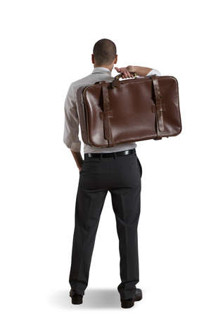 Concept of businessman and travel Stock Photo - 17563147