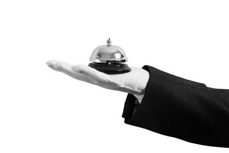 sirvientes: Concepto de servicio de primera clase en su negocio