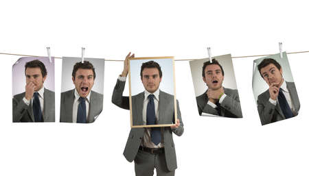 delusion: Concept of emotion expression in business