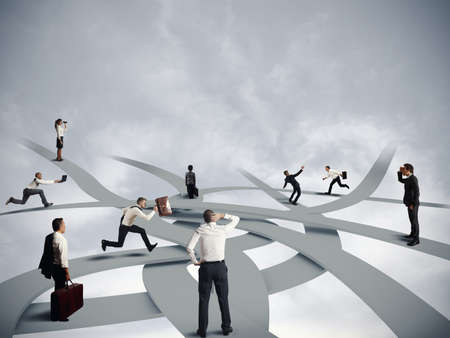 career person: Concept of confusion and business career