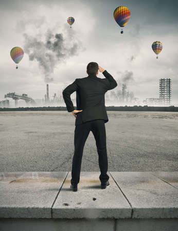 vision problems: Concept of crisis and future in the business