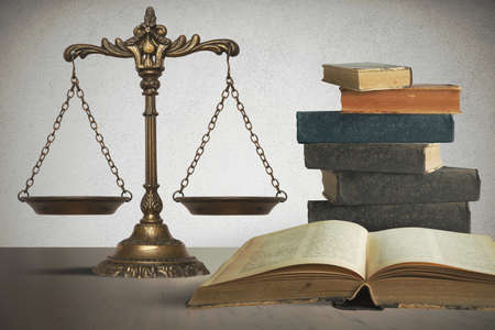 Balance concept of law and justice Stock Photo - 21739774