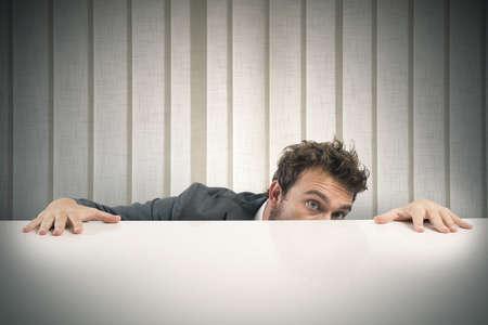 上司の恐怖と実業家の概念 写真素材