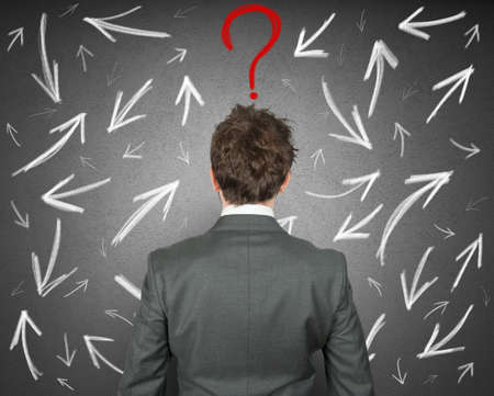 confuse: Difficult choices of a businessman