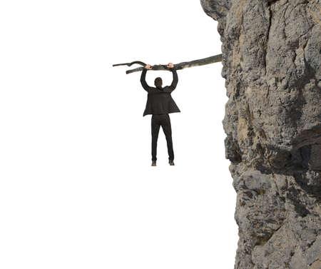 arbol de problemas: Concepto de riesgo y crisis en los negocios Foto de archivo