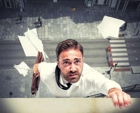 crisis economica: La falta de un hombre de negocios debido a la crisis econ�mica