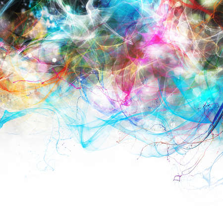 Modern abstract motion banner with white space for your text 版權商用圖片 - 32510703