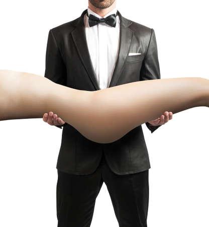 男の憧れのセクシーな女の子のボディ