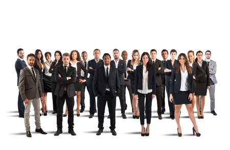 aziende: La gente che lavora insieme e formare una squadra