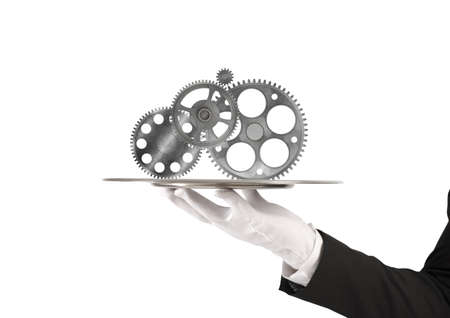 Concept of integration assistance and partnership Stock Photo