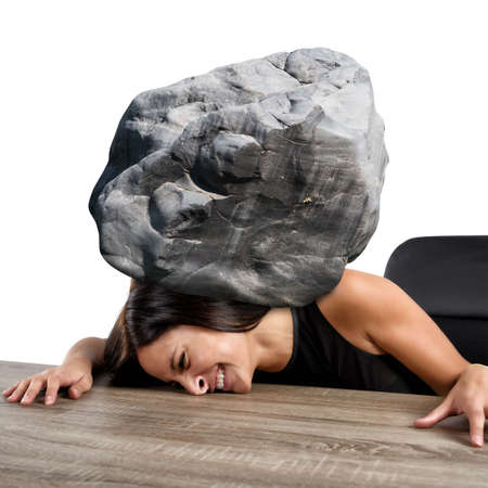 suppressed: Women crushed by the weight of stone