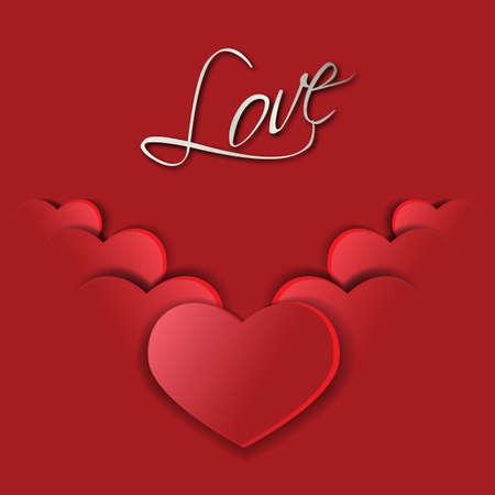 ardor: Big Red s�mbolos de corazones de San Valent�n