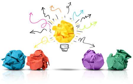 pensamiento creativo: Una gran idea puede hacer la diferencia