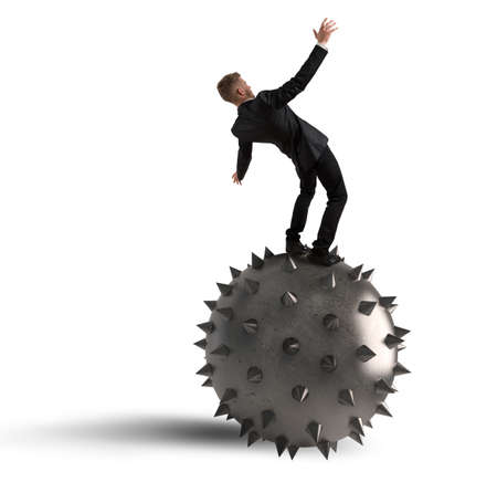 overcome a challenge: Fear of falling and failure in business