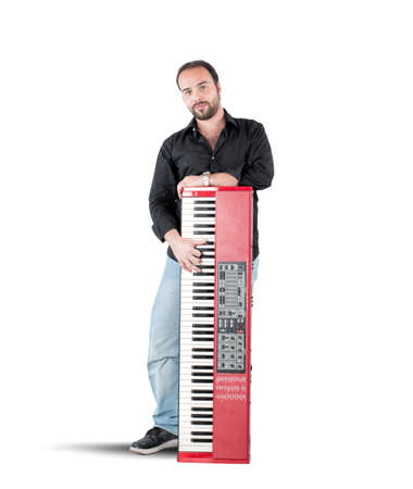 pianoforte: A musician and his inseparable red piano